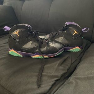 Air Jordan Boys Jumpman Retro 7's Sneakers